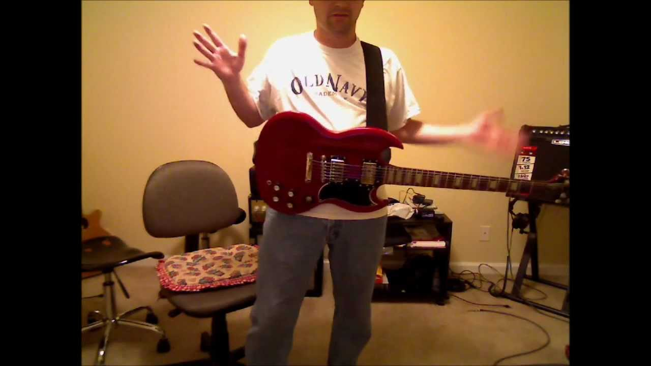 gibson sg epiphone ford granada mk2 wiring diagram got neck dive? get a heads up! - youtube