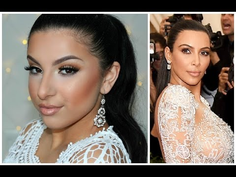 Kim Kardashian MET Gala 2015 Inspired Makeup   Makeup By Leyla
