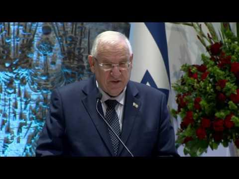 President Reuven Rivlin's addresses annual reception for Christian leaders