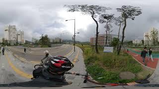 내곡동 서초포레스타 자전거도로 360 VR