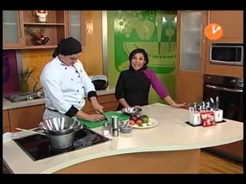 """La Hora de Comer """"Conejo a la Ligure"""" Producción Aguascalientes TV"""