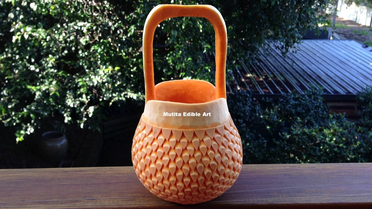 Beautiful Handbag Basket Pumpkin - Int Lesson 7 By Mutita ...