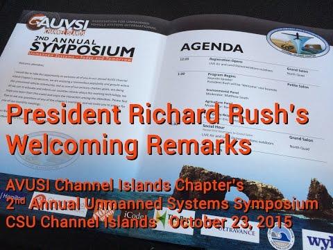 President Rush's Welcome to AVUSI 2015