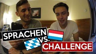 Sprachen CHALLENGE - Luxemburgisch vs. Bayrisch | mit Stefanvloggt