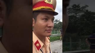 Hình tượng người chiến sỹ cảnh sát giao thông đội 11 thuộc csgt công an thành phố hà nội