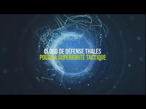 Cloud de défense Thales pour la supériorité tactique