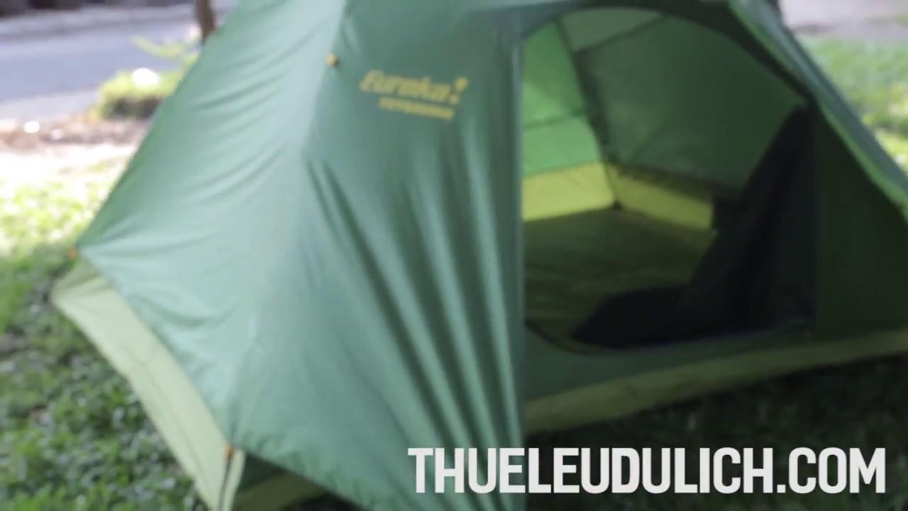 Thuê Lều Cắm Trại 6 Người - Lều Eureka Tetragon8 2 lớp tại