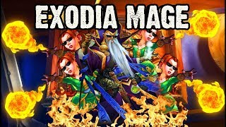 [Disguised Toast] EXODIA MAGE to Legend - The Witchwood (After Nerfed)