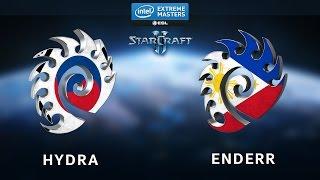 StarCraft 2 - Hydra vs. EnDerr (ZvZ) - IEM Shanghai - Ro16