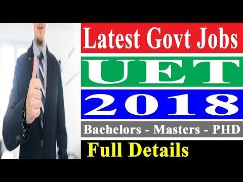 Government Jobs in Pakistan 2018 - Latest Jobs in KPK 2018 - KPK Jobs 2018