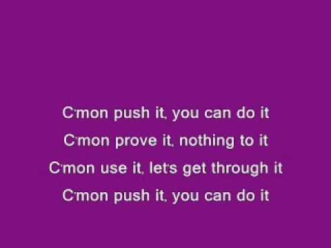 Push It - Garbage Lyrics