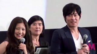 韓国映画界の名優ソル・ギョングと吉高由里子、映画「カメリア」舞台挨...
