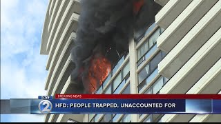 Officials: Bodies found on 26th floor of Marco Polo, where fire originated