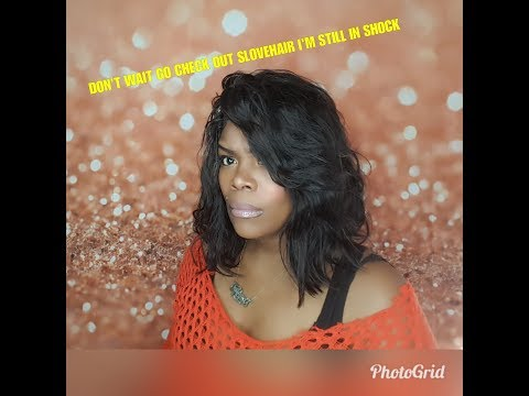 MUST SEE STYLED! SLOVEHAIR ALIEXPRESS BRAZILIAN 360 LACE  WIG