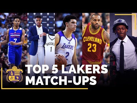 Lakers 2017-18 Schedule: Top 5 Match-Ups You Don't Want To Miss