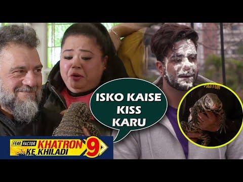 Khatron Ke Khiladi 9: Bharti's SCARY KISS Is Too Funny, Jasmin & Aly Goes Through Friendship Test