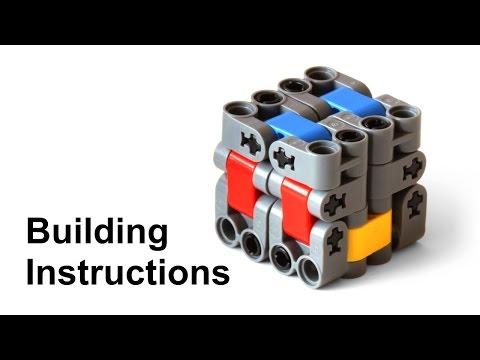 Lego Magic Folding Cube (Fidget Toy) Building Instructions