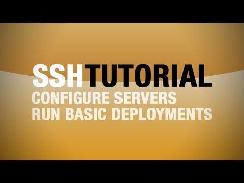 SSH Tutorial - Basic Server Administration With SSH