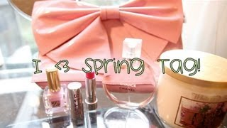I ♥ Spring Tag! | AuDeCouture Thumbnail