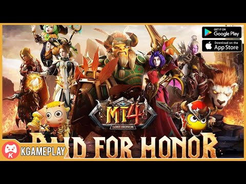 MT4 Lost Honor Gameplay Open World MMORPG