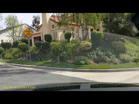 1-Hour Drive West from Los Angeles: Quiet Oak Park Neighborhood Tour, Westlake City, 2017