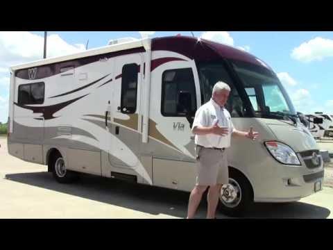 Preowned 2012 Winnebago Via 25T Class B Motorhome - Holiday World of  Houston in Katy, Texas