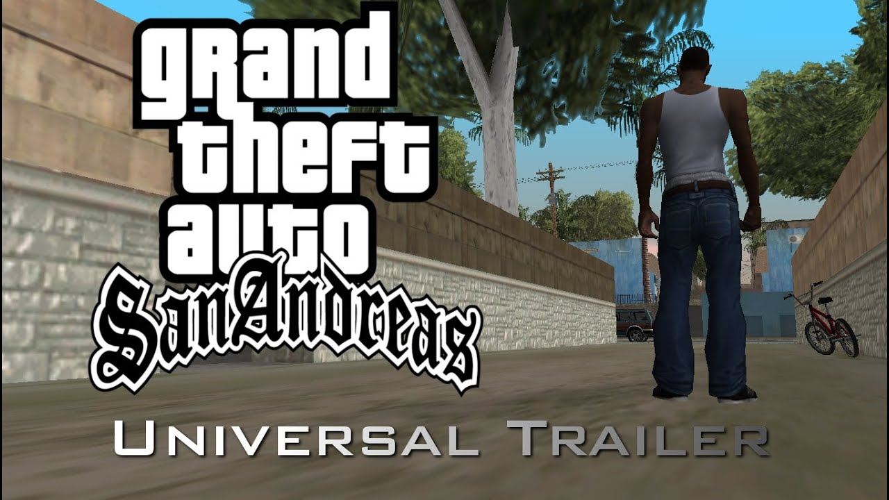 Grand Theft Auto San Andreas Universal Trailer thumbnail