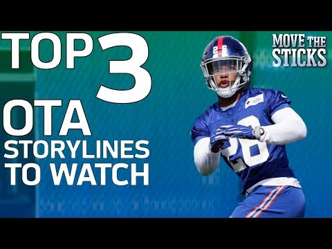 Top 3 2018 OTA Storylines to Watch | NFL Network