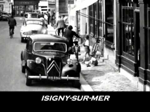 Citroen Traction Avant slideshow of vintage postcards France