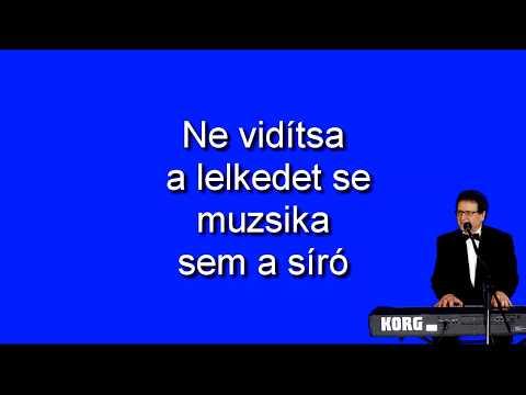 Magyar nóta karaoke- Sose nyíljon kiskertedbe