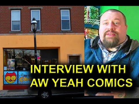 Interview with Aw Yeah Comics
