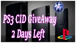 PS3 CID GiveAway 2 Days Left Winner On Sunday The 13th of October 2019