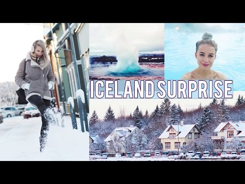 THE BEST BIRTHDAY SURPRISE TRIP TO ICELAND | Inthefrow