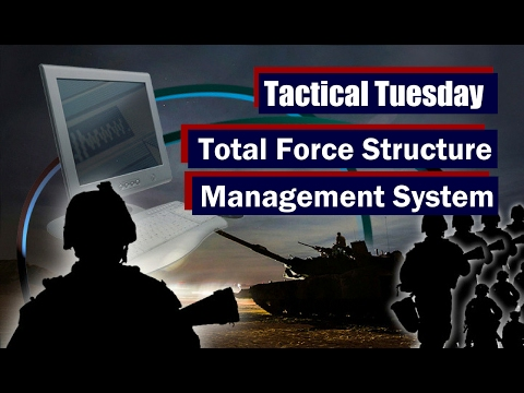 Tactical Tuesday: Total Force Structure Management System
