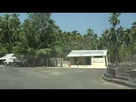 WAY FROM A.F. STN.CAR NICOBAR TO PASHA BEACH AT CAR NICOBAR ISLAND AS ON (07-02- 2014),ANDAMAN,INDIA