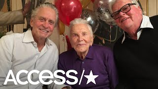 Kirk Douglas Turns 101: See Photos From The Hollywood Legend's Family Celebration | Access
