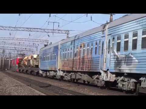 "Fail: ЭП1-297 & ЭП1-336 с поездом ""Сирийский перелом"""