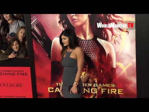 Kylie Jenner arrives at 'The Hunger Games: Catching' Fire Los Angeles premiere