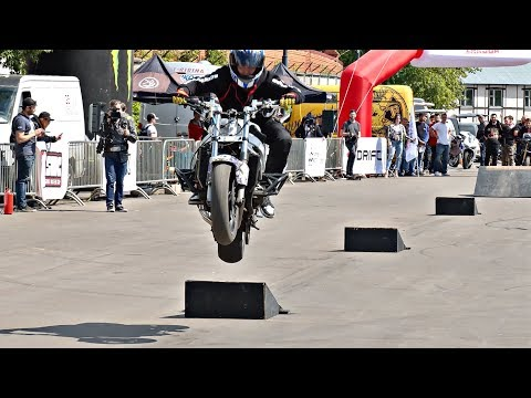 Stunt Riding Obstacle Сourse