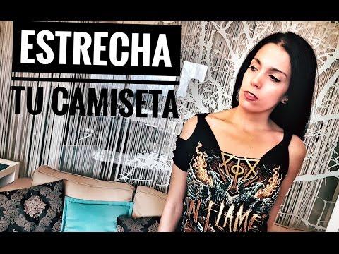 TRANSFORMA CAMISETA DE CHICO EN CHICA