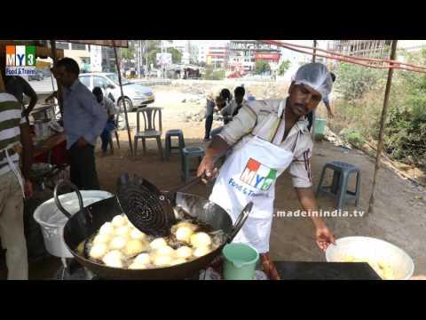 FAMOUS INDIAN BREAKFAST STREET FOODS | MYSRE BAJJI | MYSORE BONDA |  STREET FOODS IN INDIA