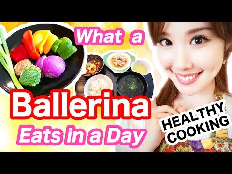 【What I Eat in a Day】My Ballerina DIET Secrets + Easy Japanese Cooking!