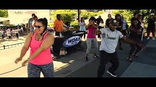 Charged Up dance SistaStrut 2018 at Xfinity Live in Philadelphia