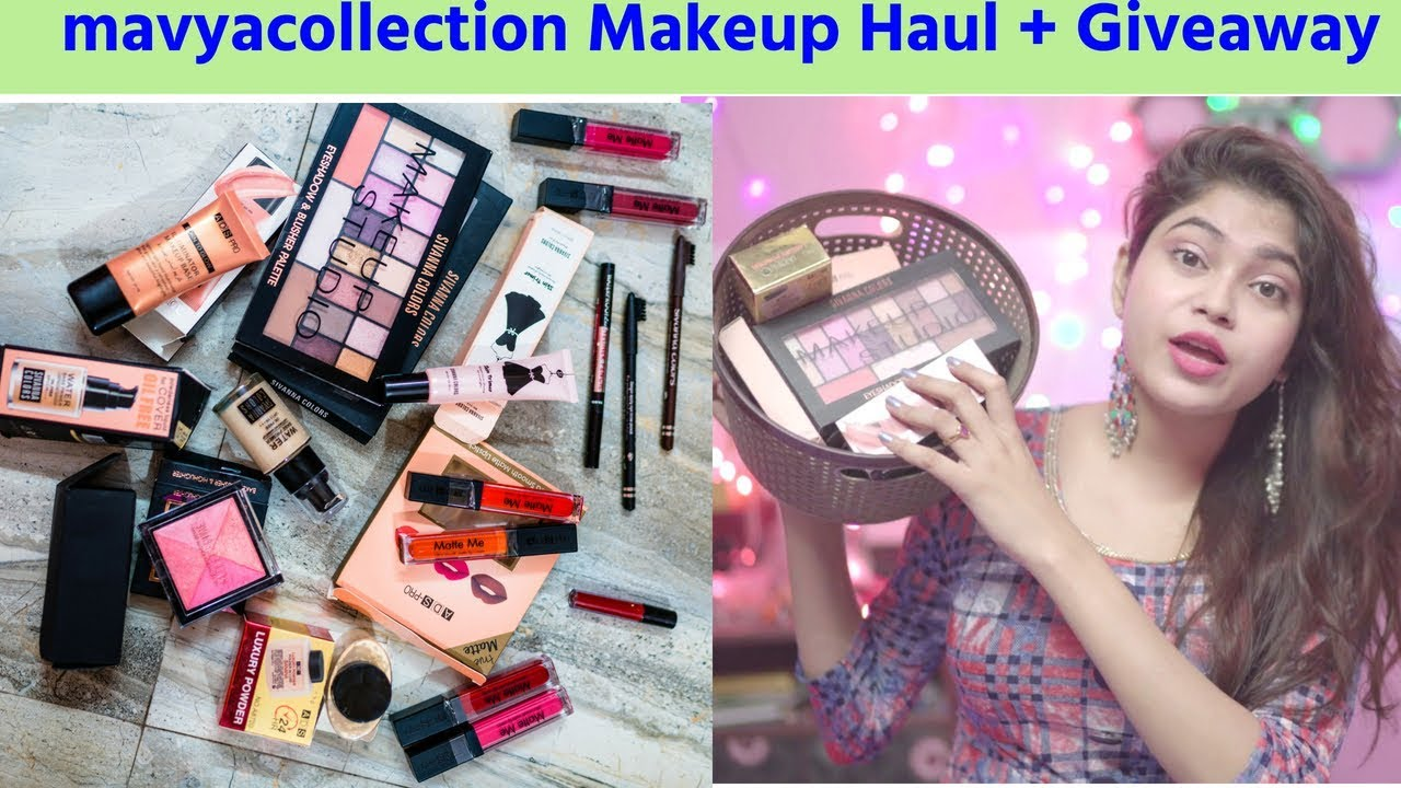 How To : Instagram Makeup Shopping | Cheap Makeup Haul from Instastore Mavyacollection