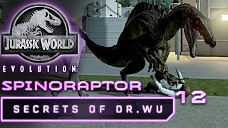Jurassic World Evolution Deutsch DLC Dr Wu Spinoraptor Deutsch German #12