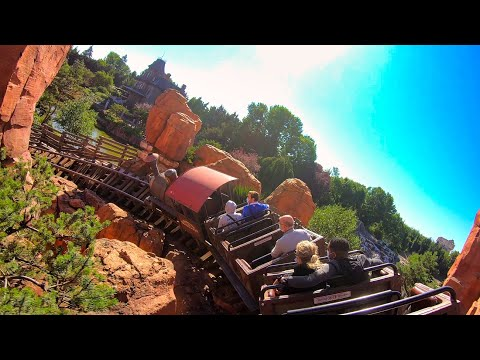 [4K] Big Thunder Mountain - On Ride POV - Disneyland Paris