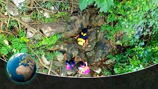 They risk their lives - One of the world's most dangerous ways to school - Phillippines