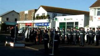 Llantwit Major gives their support to the armed services December 12th 2010