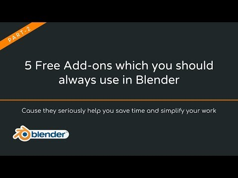 5 Free Addons that will simplify your work in Blender 3D [2]