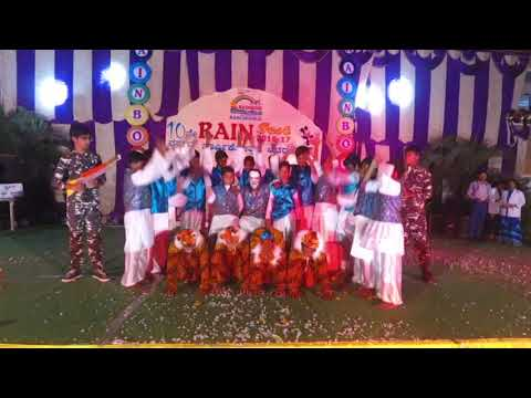 RAINBOW SCHOOL RANEBENNUR ANNUAL DAY  2016-2017